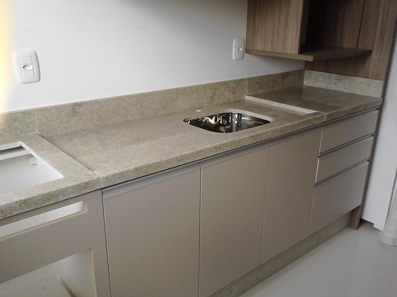 Tampo cozinha  GRANITO BRANCO ITAÚNAS -> Pia De Banheiro Granito Branco Itaunas